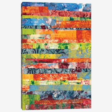 Monoprint Collage IV Canvas Print #REG7} by Regina Moore Canvas Artwork
