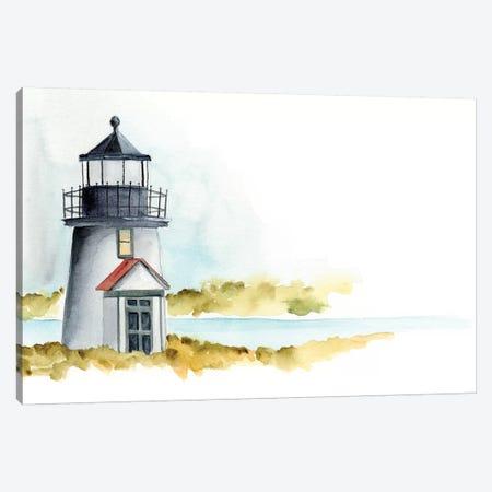 Ocean Beacon I 3-Piece Canvas #REG80} by Regina Moore Canvas Art