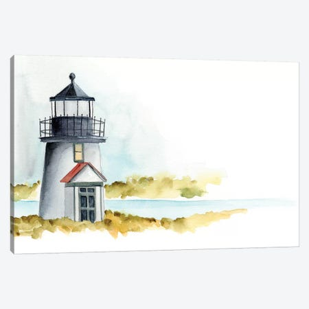 Ocean Beacon I Canvas Print #REG80} by Regina Moore Canvas Art