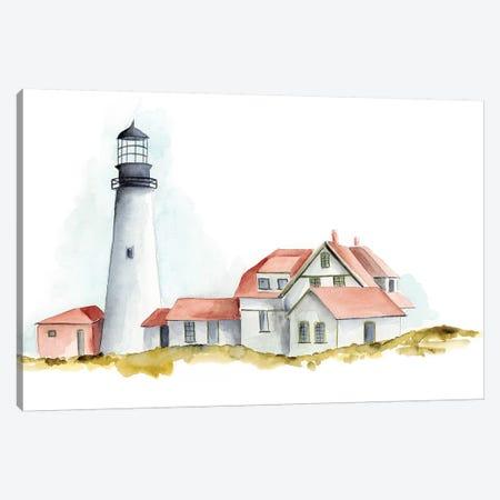 Ocean Beacon II Canvas Print #REG81} by Regina Moore Canvas Art