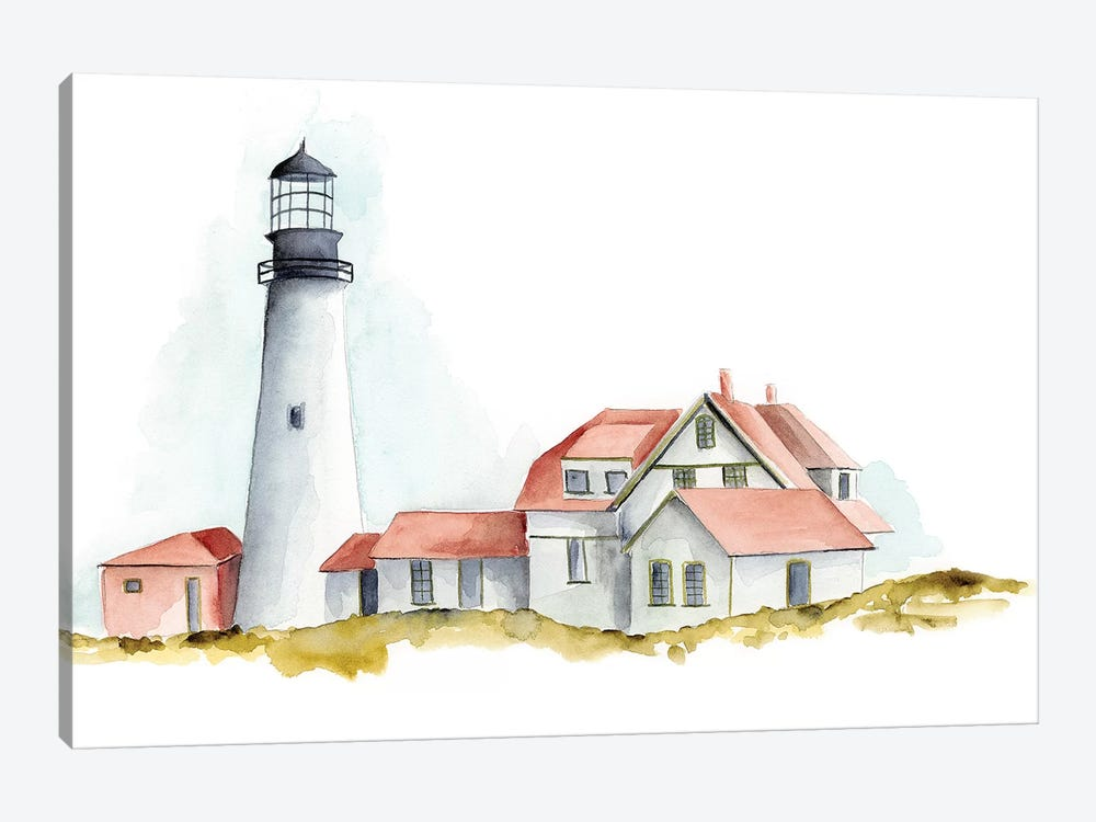 Ocean Beacon II by Regina Moore 1-piece Art Print