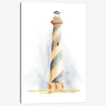 Ocean Beacon III Canvas Print #REG82} by Regina Moore Canvas Wall Art
