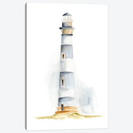 Ocean Beacon IV Canvas Print #REG83} by Regina Moore Canvas Artwork