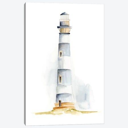 Ocean Beacon IV 3-Piece Canvas #REG83} by Regina Moore Canvas Artwork