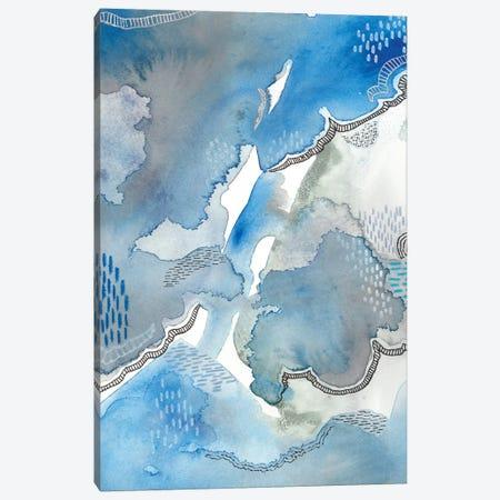 Subtle Blues I Canvas Print #REG91} by Regina Moore Canvas Print