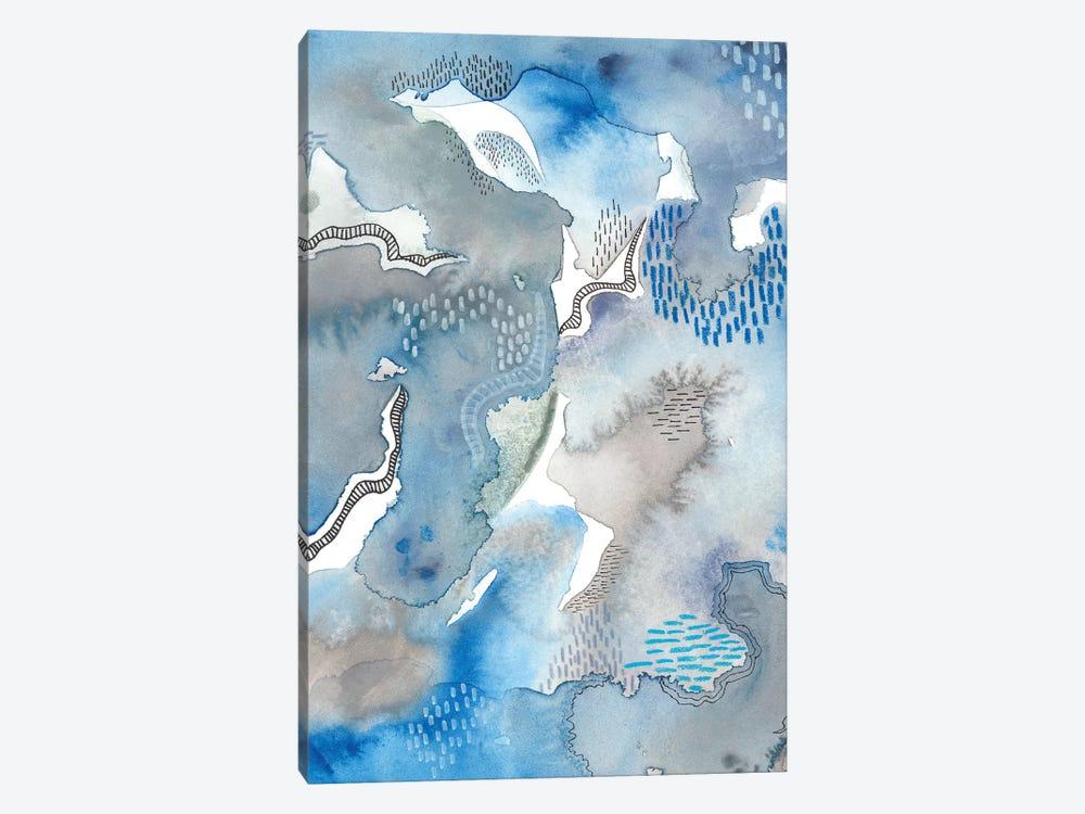 Subtle Blues II by Regina Moore 1-piece Canvas Print