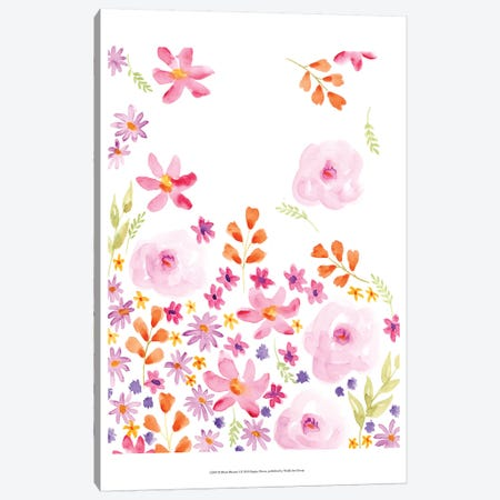 Blush Blooms I Canvas Print #REG97} by Regina Moore Canvas Art