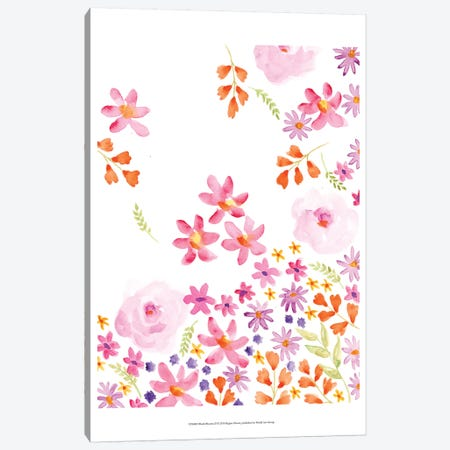 Blush Blooms II Canvas Print #REG98} by Regina Moore Canvas Print