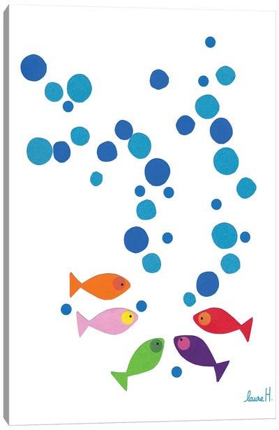 Paper Fish Canvas Art Print