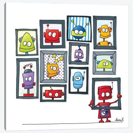 Robots Museum Canvas Print #REH35} by LaureH Canvas Print