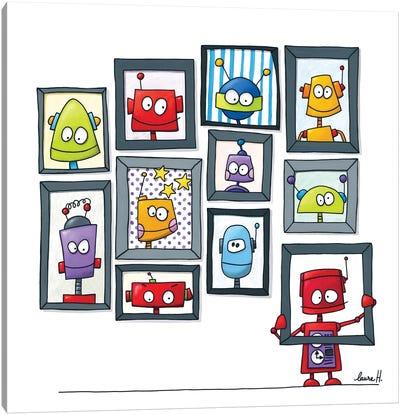 Robots Museum Canvas Art Print