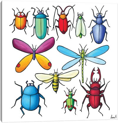 Insects Canvas Art Print