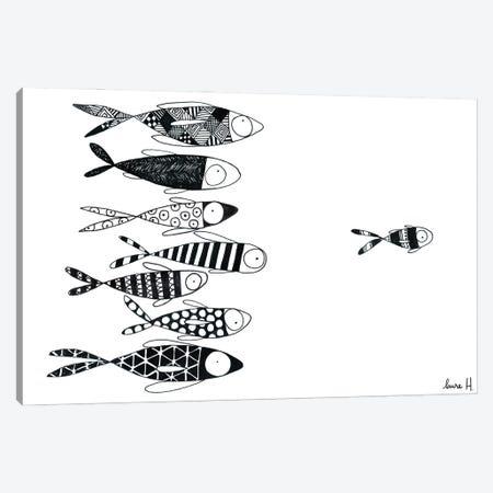 Follow Me Canvas Print #REH49} by LaureH Canvas Art Print