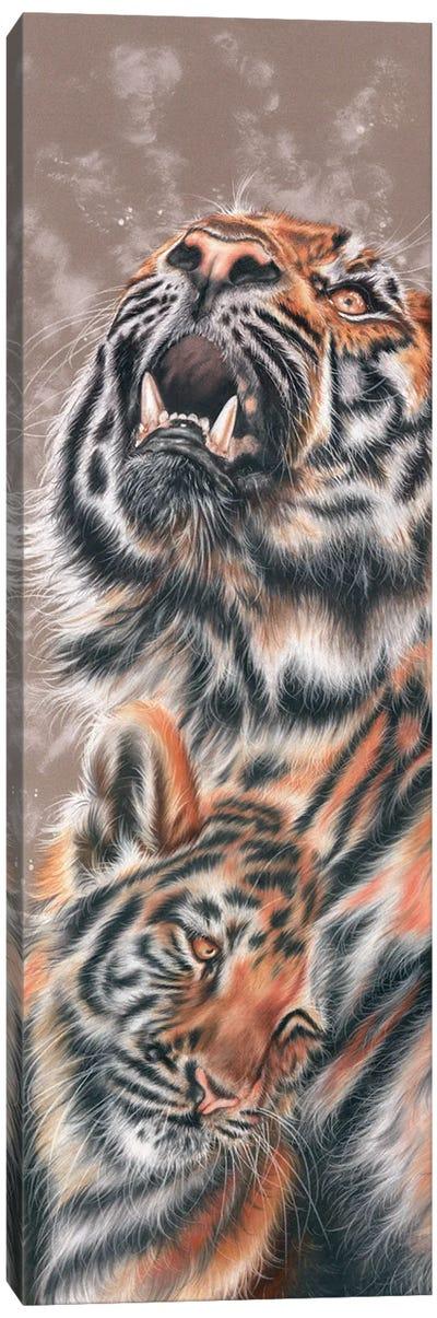 Silent Cry Canvas Art Print