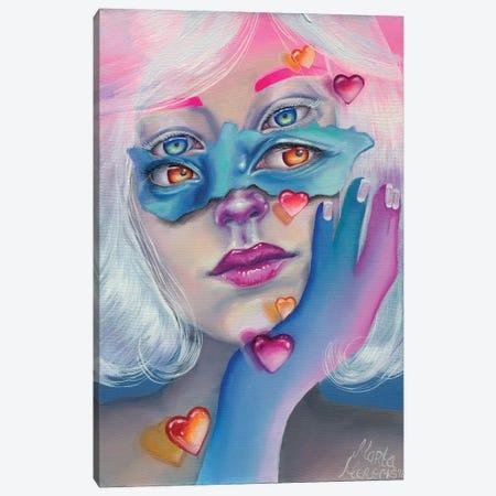 Lovely Illusions Canvas Print #REM10} by Marta Merems Art Print