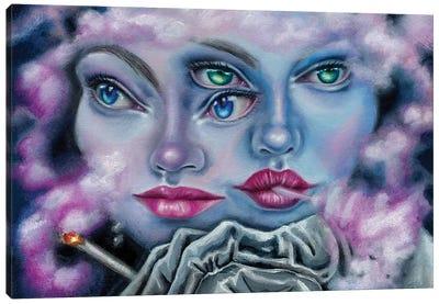 Make A Decision Canvas Art Print