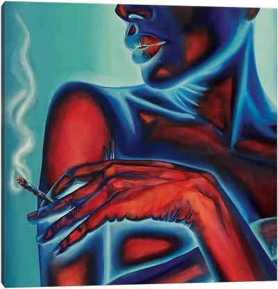 Neon Body №3 Canvas Art Print