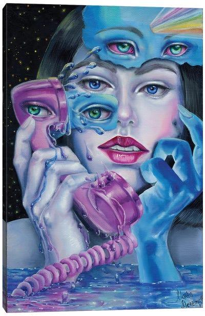 Night Call Canvas Art Print