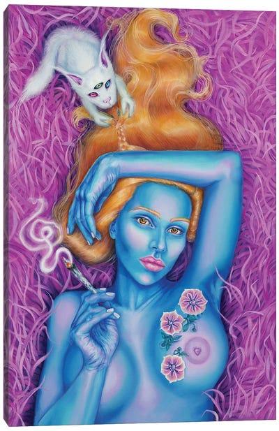Princess Cry Cry Canvas Art Print