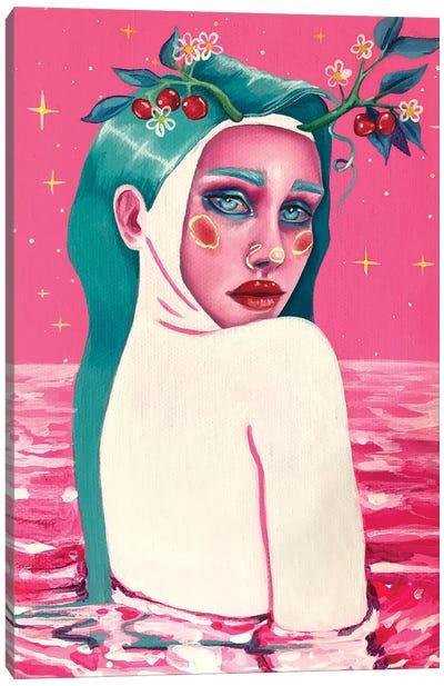 Sweet Mermaid Canvas Art Print