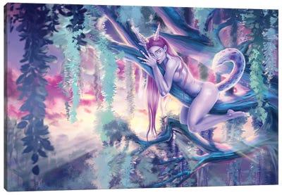 Jungle Lady Canvas Art Print