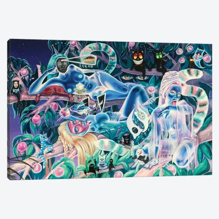 Good Company Canvas Print #REM4} by Marta Merems Canvas Art