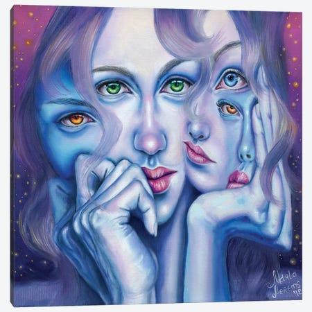 Insomnia Canvas Print #REM7} by Marta Merems Canvas Artwork