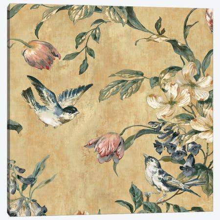 Birdland I Canvas Print #REN1} by Reneé Campbell Canvas Art