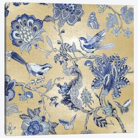 Passing Thru I - Golden Indigo Canvas Print #REN20} by Reneé Campbell Art Print