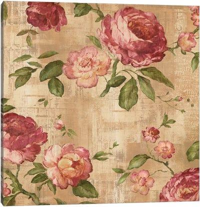 Rose Garden I Canvas Print #REN32