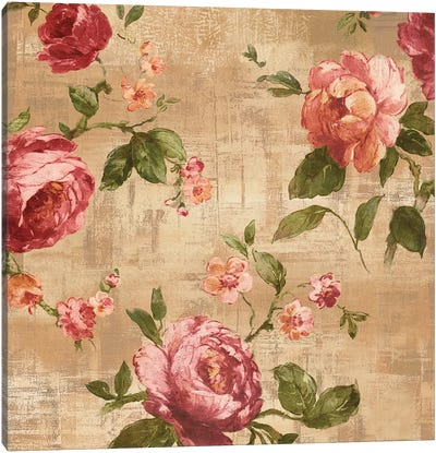 Rose Garden II Canvas Art Print