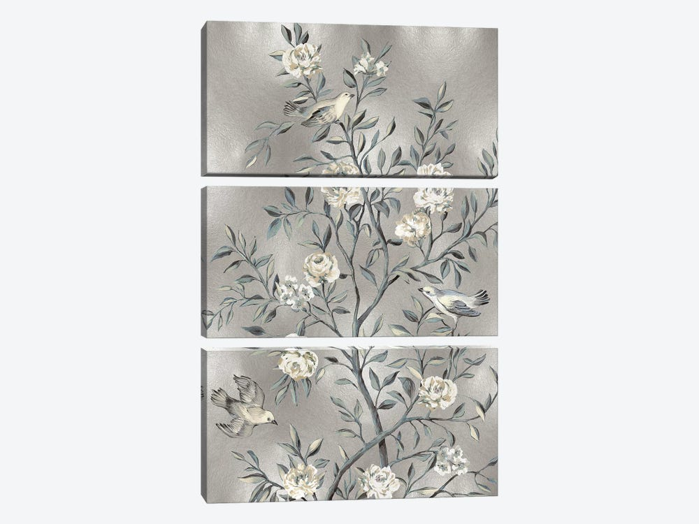 Chinoiserie III by Reneé Campbell 3-piece Canvas Artwork