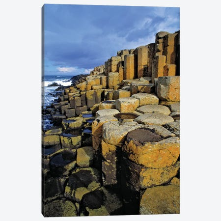 Northern Ireland, County Antrim, The Giant's Causeway. 3-Piece Canvas #RER12} by Ric Ergenbright Canvas Artwork