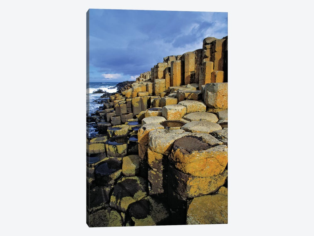 Northern Ireland, County Antrim, The Giant's Causeway. by Ric Ergenbright 1-piece Canvas Artwork