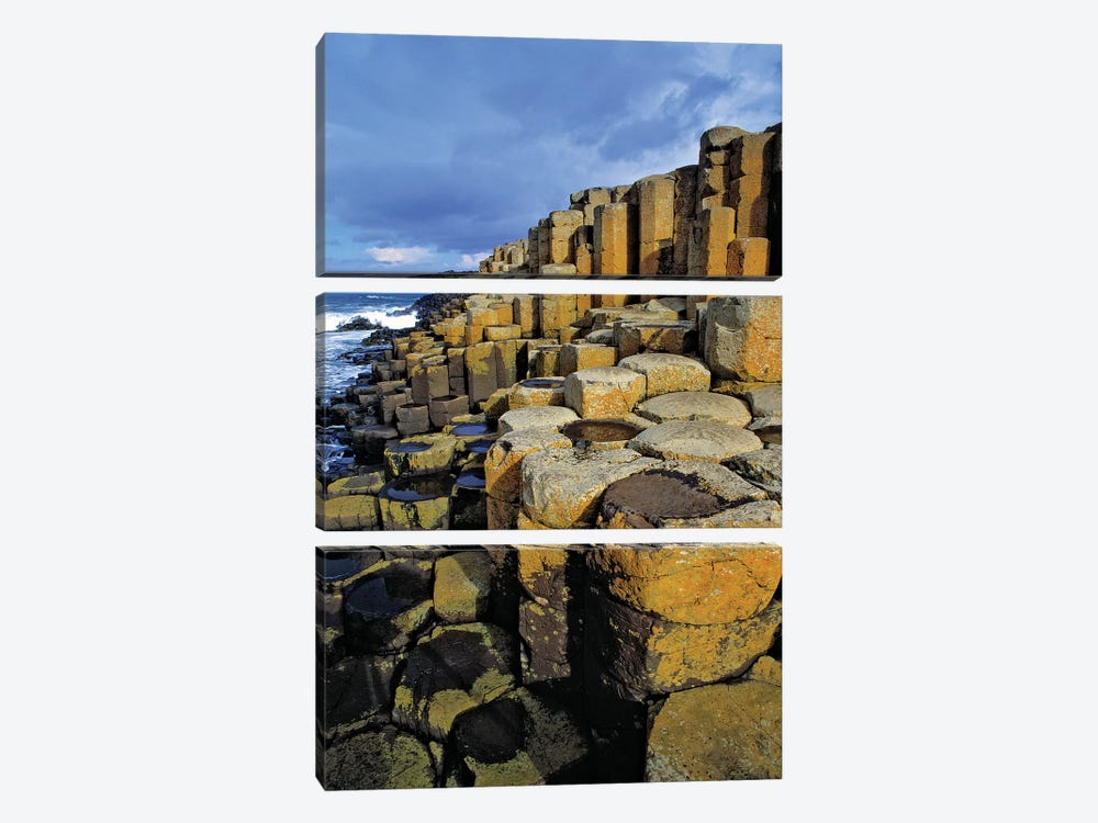 Northern Ireland, County Antrim, The Giant's Causeway. by Ric Ergenbright 3-piece Canvas Artwork