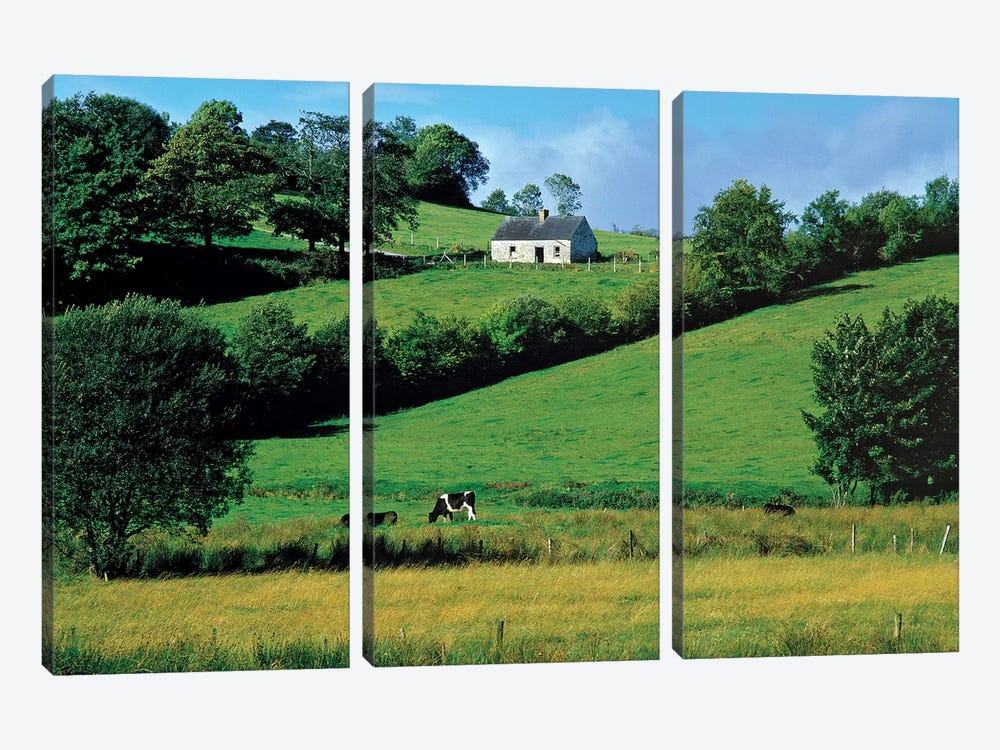 Northern Ireland, County Fermanagh, Lough Erne.  by Ric Ergenbright 3-piece Canvas Artwork