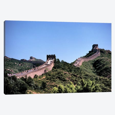 Badaling, Great Wall Of China, Hebei Province, People's Republic Of China Canvas Print #RER1} by Ric Ergenbright Canvas Print