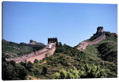 Badaling, Great Wall Of China, Hebei Province, People's Republic Of China Canvas Print #RER1