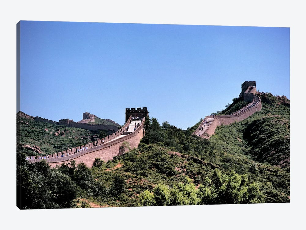 Badaling, Great Wall Of China, Hebei Province, People's Republic Of China by Ric Ergenbright 1-piece Canvas Artwork