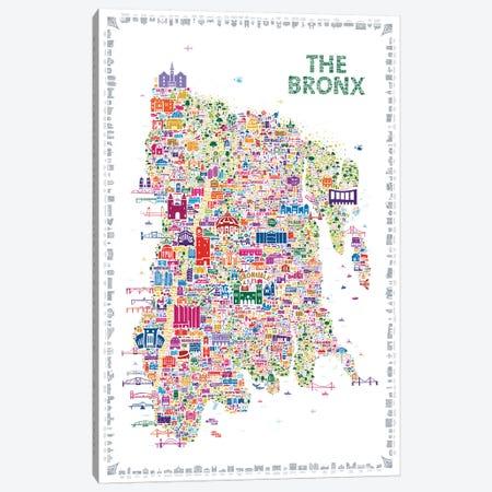 New York Collection-Bronx Canvas Print #RES23} by Rafael Esquer Canvas Artwork