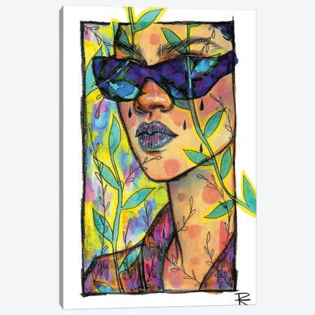 Tropical Ri V Canvas Print #RET11} by Roselin Estephanía Canvas Wall Art