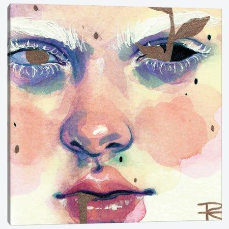 Leaves Canvas Print #RET26} by Roselin Estephanía Canvas Artwork