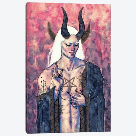 The Devil Canvas Print #RET28} by Roselin Estephanía Art Print