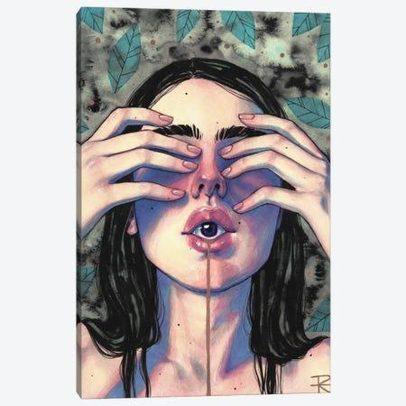 Malamente Canvas Print #RET31} by Roselin Estephanía Canvas Artwork