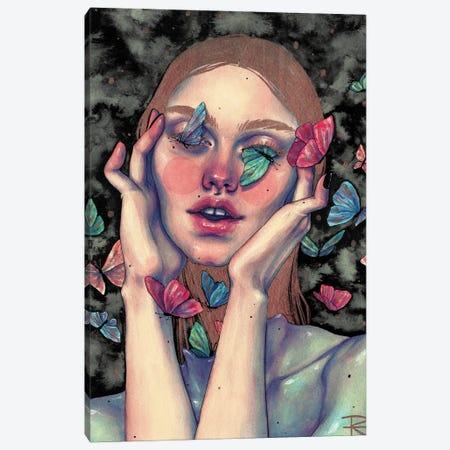 No Más Mariposas Canvas Print #RET35} by Roselin Estephanía Canvas Art Print