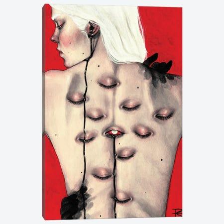 La Piel Del Mal Canvas Print #RET37} by Roselin Estephanía Canvas Art Print