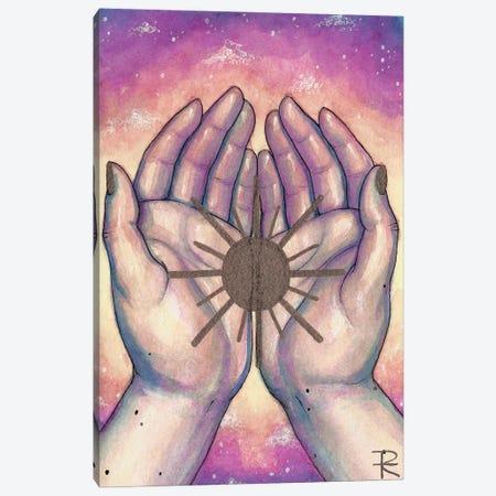 The Sun Canvas Print #RET43} by Roselin Estephanía Art Print