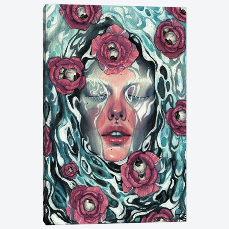 Anxiété Canvas Print #RET45} by Roselin Estephanía Canvas Wall Art