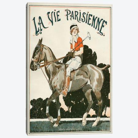 1919 La Vie Parisienne Magazine Cover Canvas Print #REV1} by Rene Vincent Art Print
