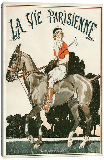1919 La Vie Parisienne Magazine Cover Canvas Art Print